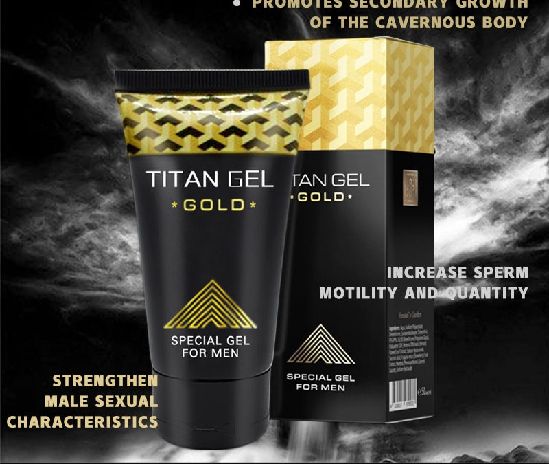 Titan gel gold – crème – comment utiliser  – effets – composition – France – action